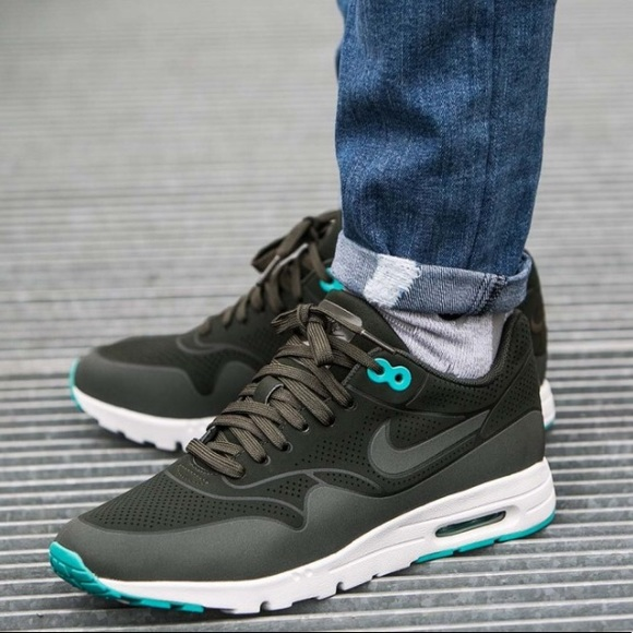 NIKE AIR MAX 1 Ultra Moire Sequoia Teal Sneakers